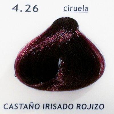 4.26 Castaño Irisado Rojizo (ciruela)