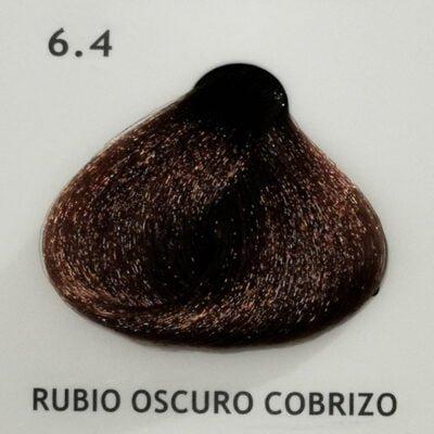 6.4 Rubio Oscuro Cobrizo
